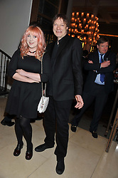 WILLIAM ORBIT and  at a dinner hosted by Pablo Ganguli and Ella Krasner to celebrate the 10th Anniversary of Liberatum and in honour of Sir Peter Blake held at The Corinthia Hotel, Nortumberland Avenue, London on 23rd November 2011.