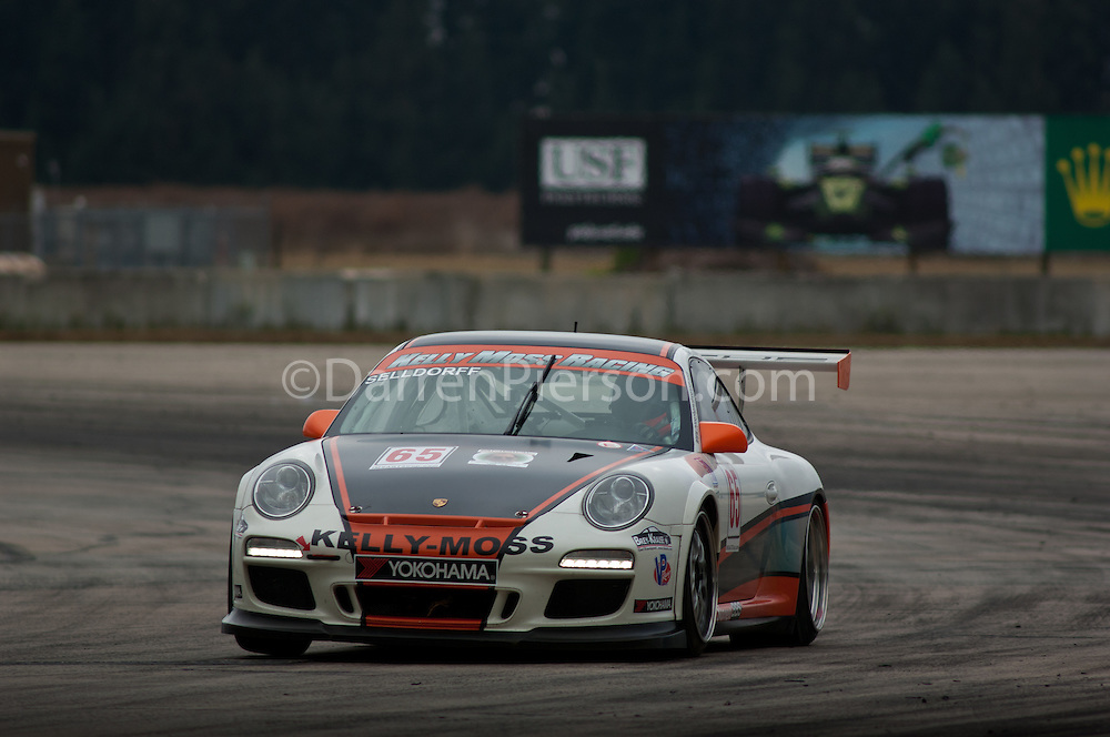 #65 Kelly Moss Motorsports Porsche GT3 Cup: Frank Selldorff