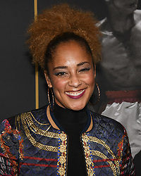 May 8, 2019 - Los Angeles, California, USA - 08, May 2019 - Pasadena, California. Amanda Seales attends 'What's My Name | Muhammad Ali' HBO Documentary Premiere at Regal Cinemas LA LIVE 14 in Los Angeles, California. (Credit Image: © Billy Bennight/ZUMA Wire)