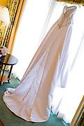 wedding gown details by Cayman photographer Courtney Platt