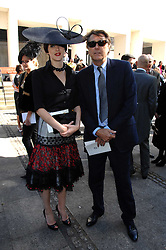 BRYAN FERRY & KATIE TURNER at the memorial service of Isabella Blow held at the Guards Chapel, London W1 on 18th September 2007.<br /><br />NON EXCLUSIVE - WORLD RIGHTS
