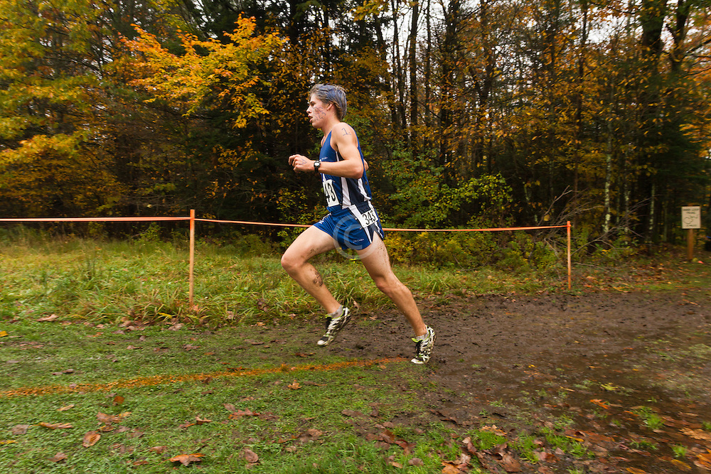 2012 High School Western Maine Regional Cross Country Championships, Class B Boys race , Silas Eastman, Fryeburg
