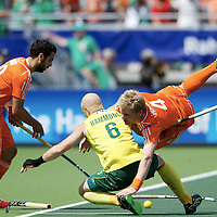 DEN HAAG - Rabobank Hockey World Cup<br /> 38 Final: Australia - Netherlands<br /> Foto: Klaas Vermeulen (orange).<br /> COPYRIGHT FRANK UIJLENBROEK FFU PRESS AGENCY