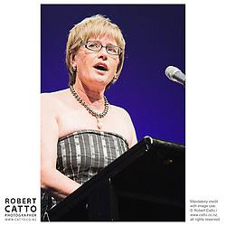 Kerry Prendergast at the Wellington Region Gold Awards 07 at TSB Arena, Wellington, New Zealand.