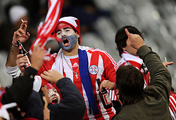 14.06.2010, Cape Town Stadium, Kapstadt, RSA, FIFA WM 2010, Italien vs Paraguay im Bild Paraguay Fan, EXPA Pictures © 2010, PhotoCredit: EXPA/ InsideFoto/ G. Perottino, ATTENTION! FOR AUSTRIA AND SLOVENIA ONLY!!! / SPORTIDA PHOTO AGENCY
