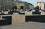 Berlino: Holocaust Memorial designed by american architect Peter Eisenman