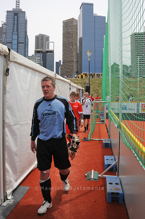 Melbourne Homeless World Cup 2008, Melbourne