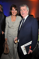 STEPHEN QUINN and CAROLYN MCCALL 2008 winner at the presentation of the Veuve Clicquot Business Woman Award 2009 hosted by Graham Boyes MD Moet Hennessy UK and presented by Sir Trevor Macdonald at The Saatchi Gallery, Duke of York's Square, Kings Road, London SW1 on 28th April 2009.