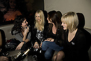 MARIE HELVIN, HANNAH SANDLING, LISA SNOWDON AND JENNI FALCONER, Party to launch CARAT a new diamond brand, Kitts. Sloane sq. London. 20 December 2007.  -DO NOT ARCHIVE-© Copyright Photograph by Dafydd Jones. 248 Clapham Rd. London SW9 0PZ. Tel 0207 820 0771. www.dafjones.com.