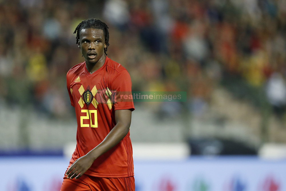 Dedryck Boyata of Belgium during the International friendly match between Belgium and The Netherlands at the King Baudouin Stadium on October 16, 2018  in Brussels, Belgium