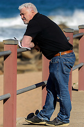 Stuart Barnes sky Sports commentator at the beach - Mandatory by-line: Steve Haag/JMP - 06/06/2018 - RUGBY - Kashmir Restaurant - Durban, South Africa - England Press Conference, South Africa Tour