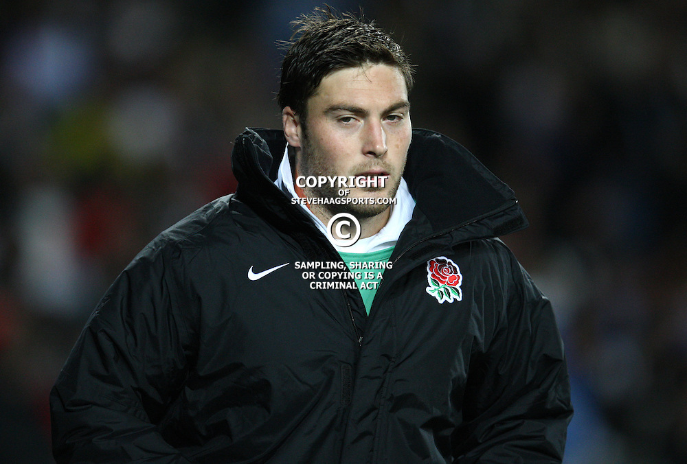 AUCKLAND, NEW ZEALAND - OCTOBER 01, Matt Banahan during the 2011 IRB Rugby World Cup match between England and Scotland at Eden Park on October 01, 2011 in Auckland, New Zealand<br /> Photo by Steve Haag / Gallo Images