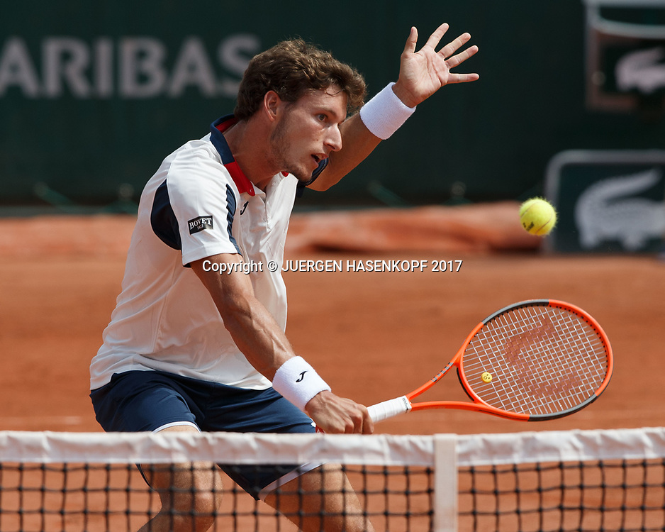 PABLO CARRENO BUSTA (ESP)<br /> <br /> Tennis - French Open 2017 - Grand Slam / ATP / WTA / ITF -  Roland Garros - Paris -  - France  - 2 June 2017.
