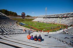 Oct 15, 2011; Charlottesville VA, USA;  General view of Scott Stadium before the game between the Virginia Cavaliers and the Georgia Tech Yellow Jackets.  Mandatory Credit: Jason O. Watson-US PRESSWIRE