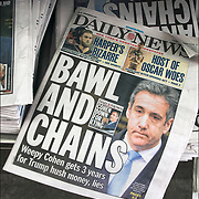 Daily News cover headlines about  President Trump latest tweets<br /> Daily News Headlines &quot; Bawl and Chains&quot; Creep Cohen gets 2 years for Trump hush money, lies&quot;