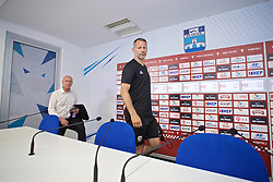 OSIJEK, CROATIA - Friday, June 7, 2019: Wales' manager Ryan Giggs before a pre-match press conference at Stadion Gradski vrt ahead of the UEFA Euro 2020 Qualifying Group E match against Croatia. (Pic by David Rawcliffe/Propaganda)