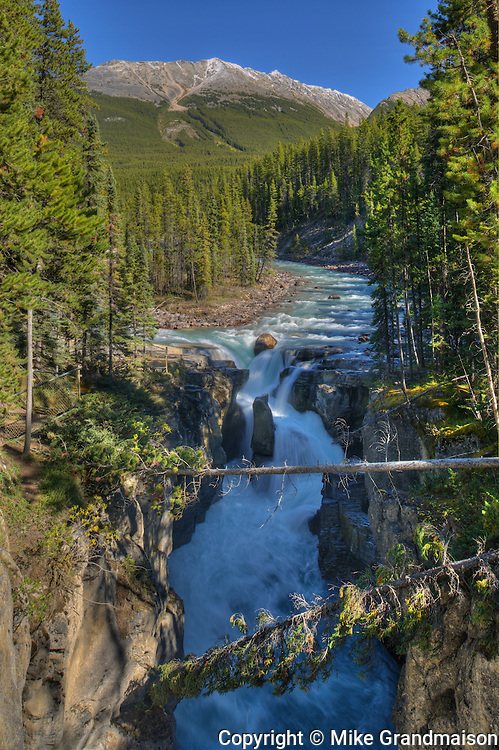 Sunwapta Falls<br /> Jasper National Park<br /> Alberta<br /> Canada