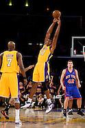Lakers vs Knicks 12-16-08