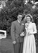 1953 Toland-Harkin Wedding at Dundrum Catholic Church