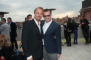 JONAS TAHLIN; VADIM GRIGORIAN, Absolut Art Bureau cocktails and dinner to celebrate the announcement of the 2013 Absolut Art Award shortlist. Bauer Hotel, San Marco. Venice. Venice Bienalle. 28 May 2013