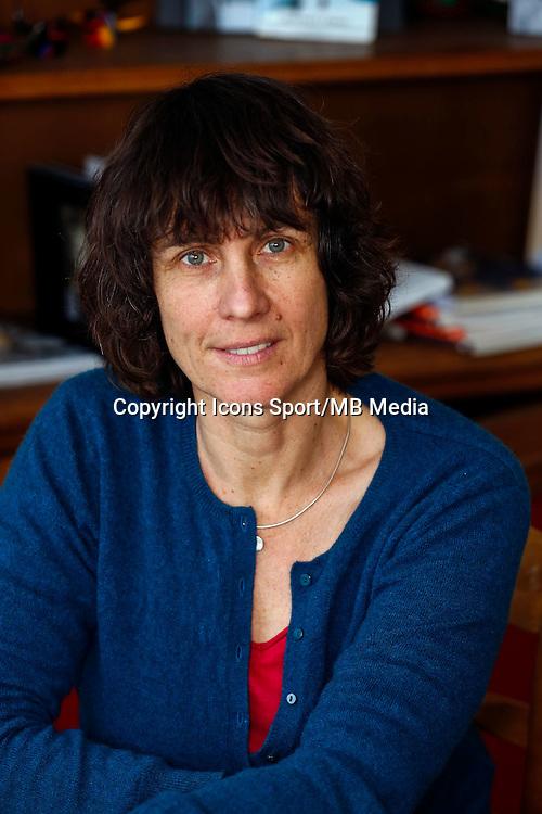 Catherine Destivelle - 15.01.2015 - Studio - Alpinisme <br /> Photos : Gilles Gustine / Visual / Icon Sport