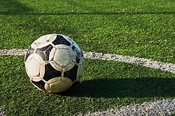 Dec. 05, 2012 - Close up of a ball on a football pitch (Credit Image: © Image Source/ZUMAPRESS.com)
