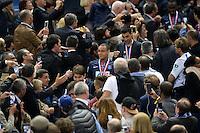 Joie PSG - Gregory Van Der Wiel - 30.05.2015 - Auxerre / Paris Saint Germain - Finale Coupe de France<br />Photo : Andre Ferreira / Icon Sport