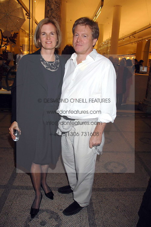 JOHN PAWSON and his wife CATHERINE at a party to celebrate the 150th anniversary of the V&amp;A museum, Cromwell Road, London on 26th June 2007.<br /><br />NON EXCLUSIVE - WORLD RIGHTS
