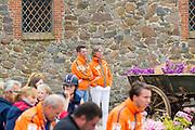 Mans Buurman en Tineke Bartels<br /> FEI European Championships Ponies 2016<br /> © DigiShots