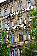 """Capitalism standardizes, destroys, kills."" That's about the size of it. Berlin, Germany."