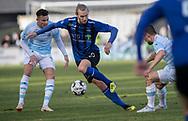 FODBOLD: Martin Koch (HB Køge) under kampen i NordicBet Ligaen mellem FC Helsingør og HB Køge den 17. marts 2019 på Helsingør Stadion. Foto: Claus Birch