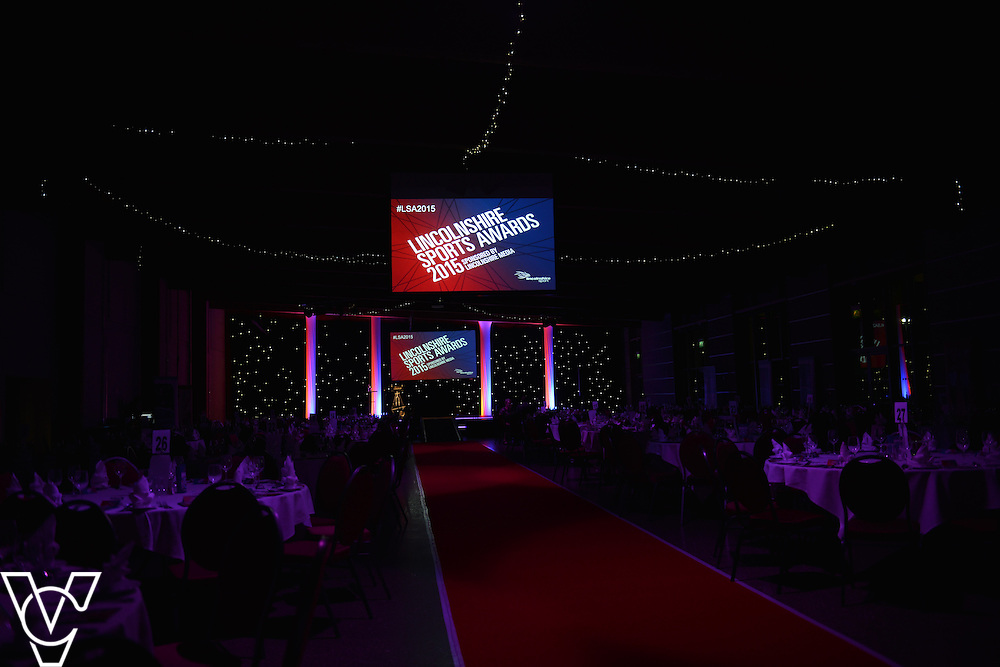 Lincolnshire Sports Awards 2015.<br /> <br /> Picture: Jane Harrison/Chris Vaughan Photography for Lincolnshire Sport.<br /> Date: November 5, 2015