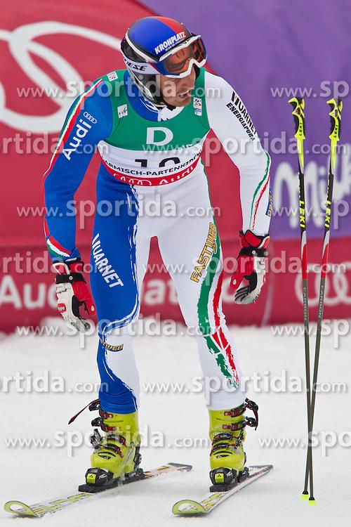 18.02.2011, Kandahar, Garmisch Partenkirchen, GER, FIS Alpin Ski WM 2011, GAP, Herren, Riesenslalom, im Bild Manfred Moelgg (ITA) // Manfred Moelgg (ITA) during men's Giant Slalom Fis Alpine Ski World Championships in Garmisch Partenkirchen, Germany on 18/2/2011. EXPA Pictures © 2011, PhotoCredit: EXPA/ J. Groder