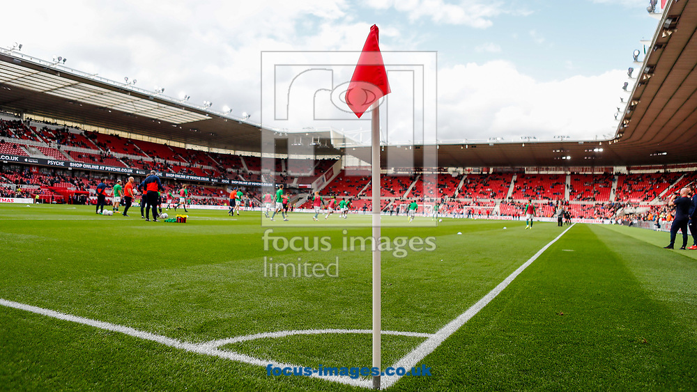 General view of the stadium prior to the Sky Bet Championship match between Middlesbrough and Brentford at the Riverside Stadium, Middlesbrough<br /> Picture by Mark D Fuller/Focus Images Ltd +44 7774 216216<br /> 30/09/2017