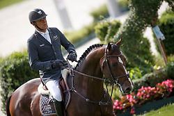 Dubbeldam Jeroen, (NED), Alfa Jordan <br /> Sparkassen-Youngsters-Cup<br /> Weltfest des Pferdesports Aachen 2015<br /> © Hippo Foto - Dirk Caremans<br /> 29/05/15
