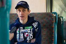 Peter Prevc during  press conference of Ski jumping Planica 2019, on March 20, 2019, in Slovenian railways, Slovenia. Photo by Matic Ritonja / Sportida