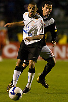 20090603: RIO DE JANEIRO, BRAZIL - Corinthians vs Santos FC – Semi Finals: Brazilian Cup 2009. In picture: Chistian (Corinthians) and Vilson (Vasco). PHOTO: CITYFILES