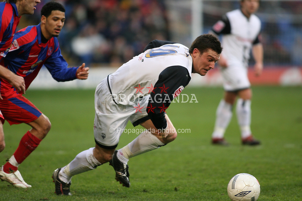 London, England - Saturday, January 27, 2007: Crystal Palace against Preston North End's David Nugent during the FA Cup 5th Round match at Selhurst Park. (Pic by Chris Ratcliffe/Propaganda)