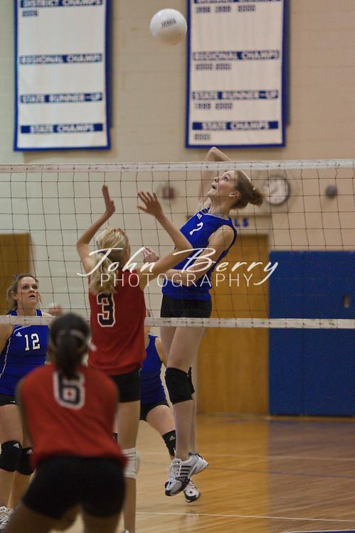 MCHS Varsity Volleyball .vs George Mason .District Quarter Finals .10/28/2008