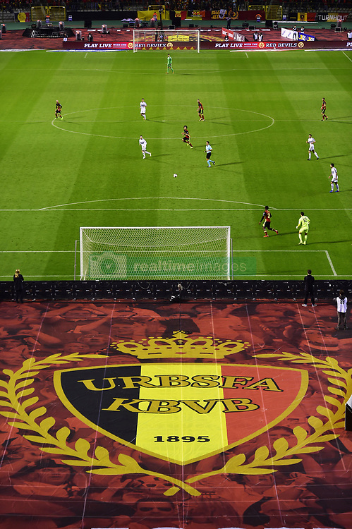 October 10, 2017 - Bruxelles, Belgique - General stadium view during the World Cup Qualifier Group H (Credit Image: © Panoramic via ZUMA Press)