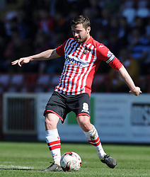 Exeter City's Matt Oakley - Photo mandatory by-line: Harry Trump/JMP - Mobile: 07966 386802 - 06/04/15 - SPORT - FOOTBALL - Sky Bet League Two - Exeter City v Newport County - St James Park, Exeter, England.