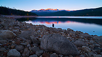 Turquoise Lake Early Morning Panorama, Leadville Colorado. Image taken with a Nikon D3x camera and 24 mm f/3.5 PC-E lens and Singray neutral density filter (ISO 100, 24 mm, f/16, 10 sec). Colorado Rocky Mountain Photo Safari with +Jason Odell