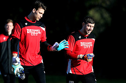 Fabian Giefer of Bristol City walks out to trainingtakes part in training with new teammate Frank Fielding - Mandatory by-line: Robbie Stephenson/JMP - 19/01/2017 - FOOTBALL - Bristol City Training Ground - Bristol, England - Bristol City Training