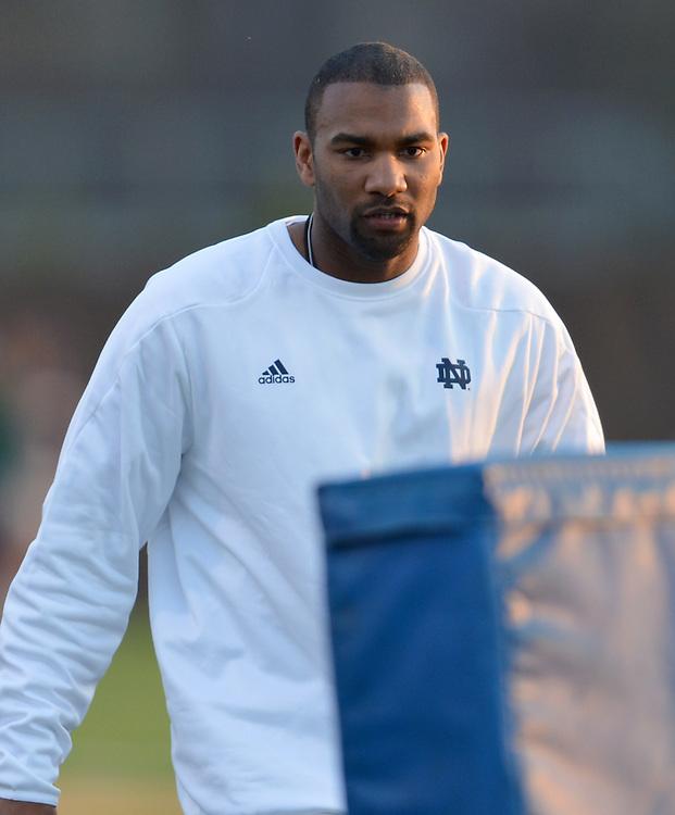 Assistant coach Scott Booker..