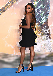 Samira Mighty attending the Aquaman premiere held at Cineworld in Leicester Square, London on November 26, 2018. Photo credit should read: Doug Peters/EMPICS