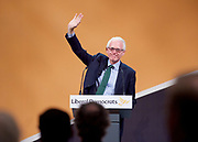 Liberal Democrats Annual Conference, Bournemouth International Centre, Bournemouth, Great Britain <br /> 19th September 2017 <br /> <br /> <br /> Norman Lamb MP <br /> keynote speech <br /> <br /> <br /> <br /> Photograph by Elliott Franks <br /> Image licensed to Elliott Franks Photography Services
