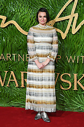 Gizzi Erskine attending the Fashion Awards 2017, in partnership with Swarovski, held at the Royal Albert Hall, London. Picture Credit Should Read: Doug Peters/ EMPICS Entertainment