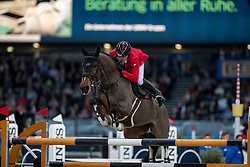 SCHWIZER Pius (SUI), Living the Dream<br /> Stuttgart - German Masters 2018<br /> Mercedes German Master CSI5*-W<br /> 16. November 2018<br /> © www.sportfotos-lafrentz.de/Stefan Lafrentz