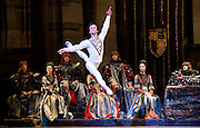 Swan Lake <br /> Bolshoi Ballet <br /> at The Royal Opera House, Covent Garden, London, Great Britain <br /> press photocall / rehearsal <br /> 29th July 2016 <br /> <br /> <br /> <br /> Russian Skvortsov as Prince Siegfried <br /> <br /> <br /> <br /> Photograph by Elliott Franks <br /> Image licensed to Elliott Franks Photography Services