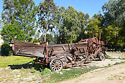 Derelict Farm Machine at Irvine Ranch Historic Park